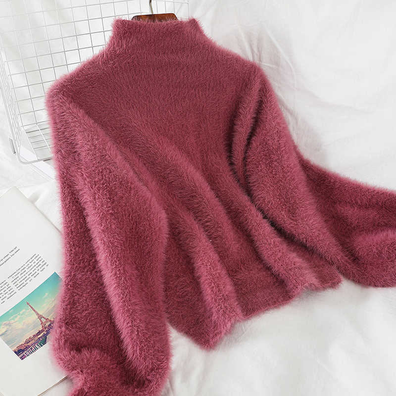 Heliar 스웨터 여성 봄 모직 솔리드 니트 긴 pullovers 겨울 스웨터 여성 따뜻한 뜨개질 두꺼운 우아한 스웨터 여성
