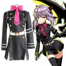 Anime Seraph Of The End Vampire Reign Cosplay Costumes Shinoa Hiiragi Cosplay Costume Halloween Party Owari No Seraph Women цена