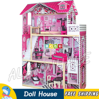 Miniature Dream Doll House DIY Wooden Dollhouse With Furnitures Adult Teenager Toys Figure Building Gifts Sets