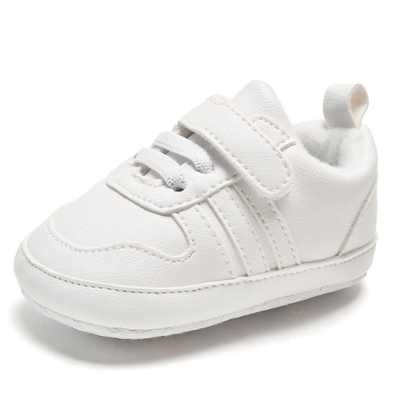 Newborn Baby Shoes Autumn Fashion Baby Boys Girls Anti-Slip Sneakers Toddler Soft Soled Casual PU Shoes
