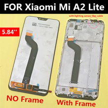 5.84 For Xiaomi Redmi 6 Pro Full LCD DIsplay +Touch Screen Digitizer Assembly Mi A2 Lite Touch