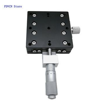 X-Axis 60 Displacement Platform Optical alignment Platform Slider Linear Platform X-Axis Displacement Platform M фото