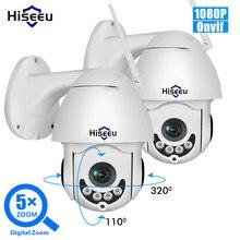 Hiseeu 1080P 2MP PTZ cámara IP bebé WiFi inalámbrico al aire libre dos manera CCTV de Audio Red de Seguridad cámara de vigilancia Onvif