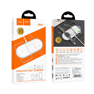 Image 5 - HOCO 3in1 אלחוטי מטען עבור iphone 11 פרו X XS Max XR עבור אפל שעון 5 4 3 Airpods פרו צ י מהיר מטען Stand עבור Samsung S20