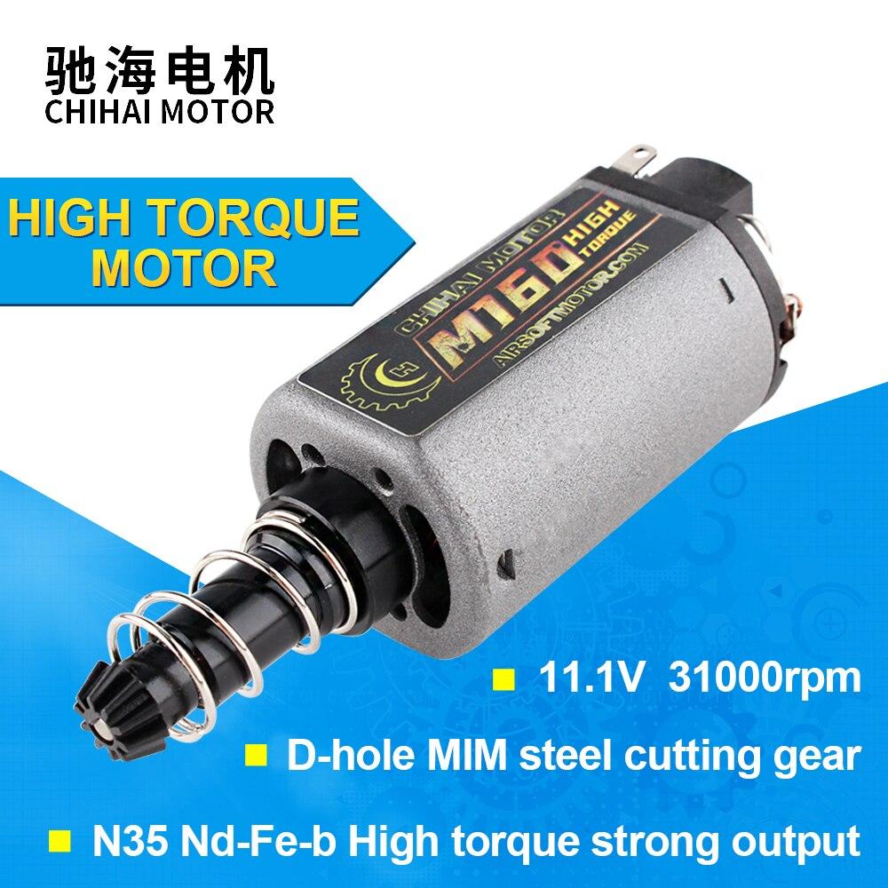 Terminator M140 High Twist High Torque AEG Motor Long Axis For Ver.2 Airsoft AEG