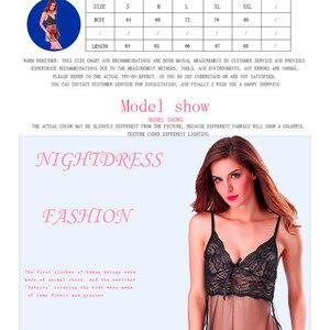 Image 5 - Bielizna Erotyczna ฤดูร้อนชุดชั้นในเซ็กซี่ชุด PLUS ขนาดชุดชั้นในเร้าอารมณ์ Babydoll ชุดนอนสำหรับสตรี Sex Nightdress