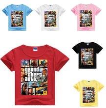 Летняя одежда dlf 2020 футболка gta 5 детская популярная рубашка