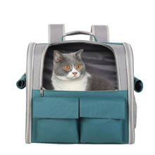 Portable Cat Backpack Bag Breathable Cat Carrier Pouch Pet Transportation Travel Bag Collapsible Handbag Transport Cage for Cats