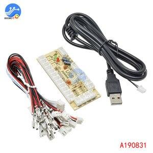 Image 3 - 2 pièces 2x zéro retard Arcade USB encodeur PC à Joystick et bouton pour MAME combat bâton contrôle Circuit imprimé
