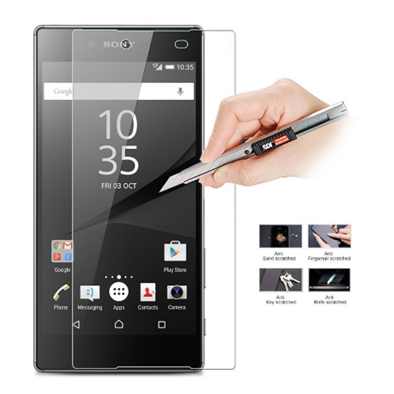 For Sony Xperia Z5 Plus Tempered Glass Screen Protector Cover For Sony Xperia Z5plus Protective For Sony Xperia Z5 Plus Glass