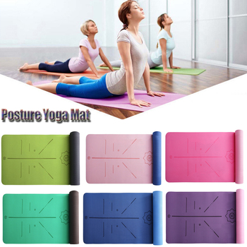 Yoga Mat Non-slip Fitness Slim Yoga Gym Exercise Mats Lose Weight Tasteless Pilates Gym Exercise Pads Fitness Mat D30 цена 2017