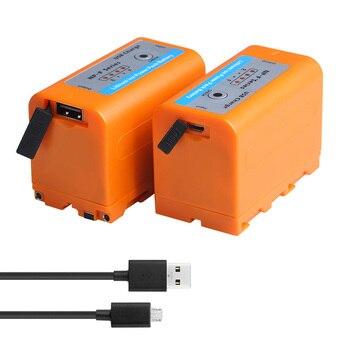 NP-F750 NP-F770 F750 F770 con 4 LED de luz de Cable USB para Sony NP F960 F970 NP-F770 F550 CCD-TRV58 TRV110K V1J z1