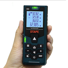 Handheld D3 Laser Distance Meter Mini Rangefinder Tape Range Finder Diastimeter Measure 40M 60M 80M 100M