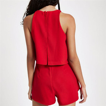 Fashion Women's Casual Holiday Summer Mini Tank Playsuit Romper Beach Shorts Jumpsuit 4