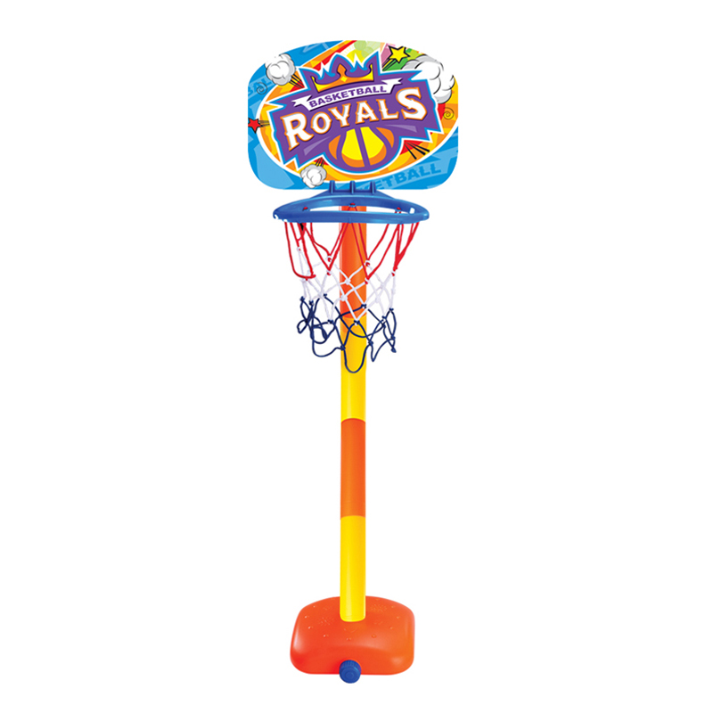Hot-Child Portable Basketball Backboard Stand Toy Sports Set With Inflator Height Adjustable Indoor Outdoor Basquete Sports Game