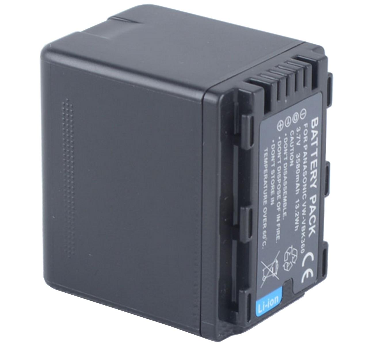 LCD USB Battery Charger for Panasonic HC-V770 HC-V770MK Full HD Camcorder HC-V770K HC-V770M