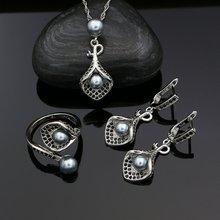 925 Серебряные наборы украшений для женщин аксессуары вечеринок