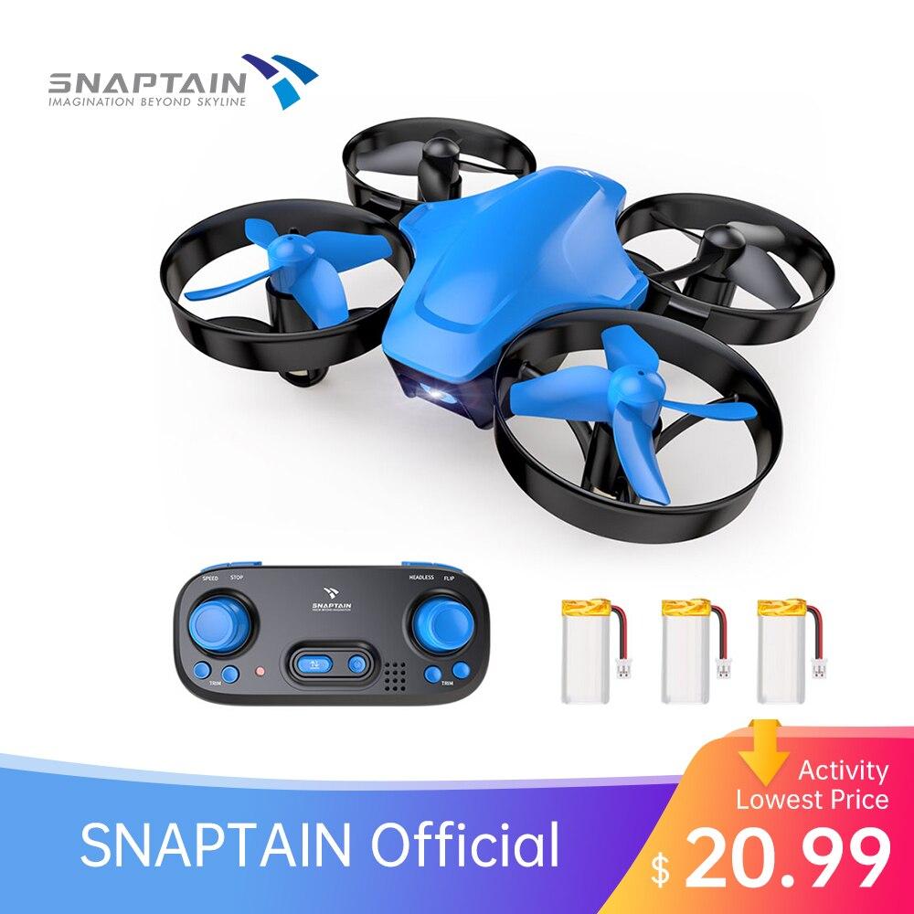 SNAPTAIN SP350 мини Дрон портативный круг Летающий 3D регулировка скорости регулировка высоты Дрон подарок игрушки для детей|Дроны с камерой|   | АлиЭкспресс