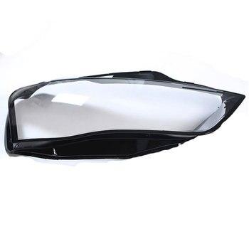 아우디 a4 b8 2015 렌즈 헤드 라이트 렌즈 헤드 라이트 보호 하우징 렌즈 보호 투명 플라스틱 투명 유리 커버|램프 후드|자동차 및 오토바이 -