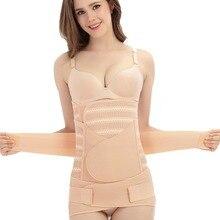 Postpartum Belt Slim Corset Shapewear Pelvis Waist-Trainer Belly-Abdomen Recovery Body