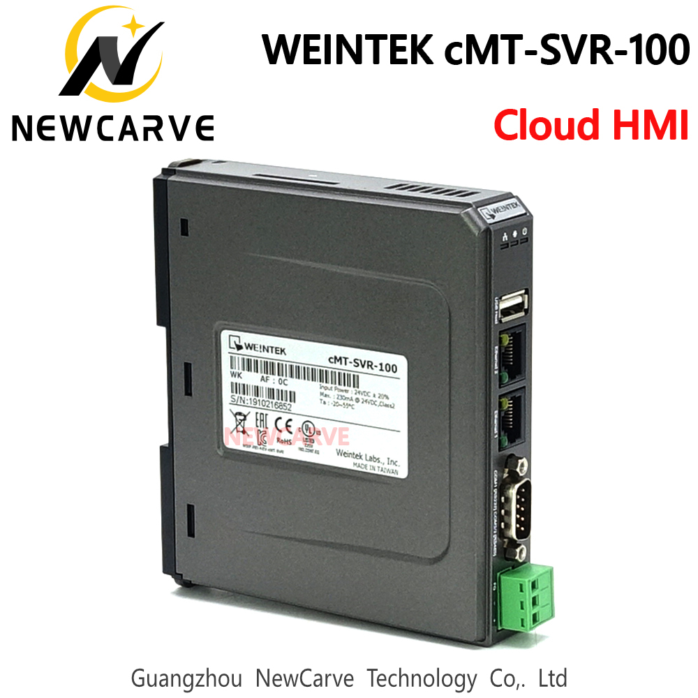 WEINVIEW/WEINTEK CMT-SVR-100 Cloud HMI Touch Screen Host Controller Ethernet  For Mobile Phone System Tablet CMT-iV5