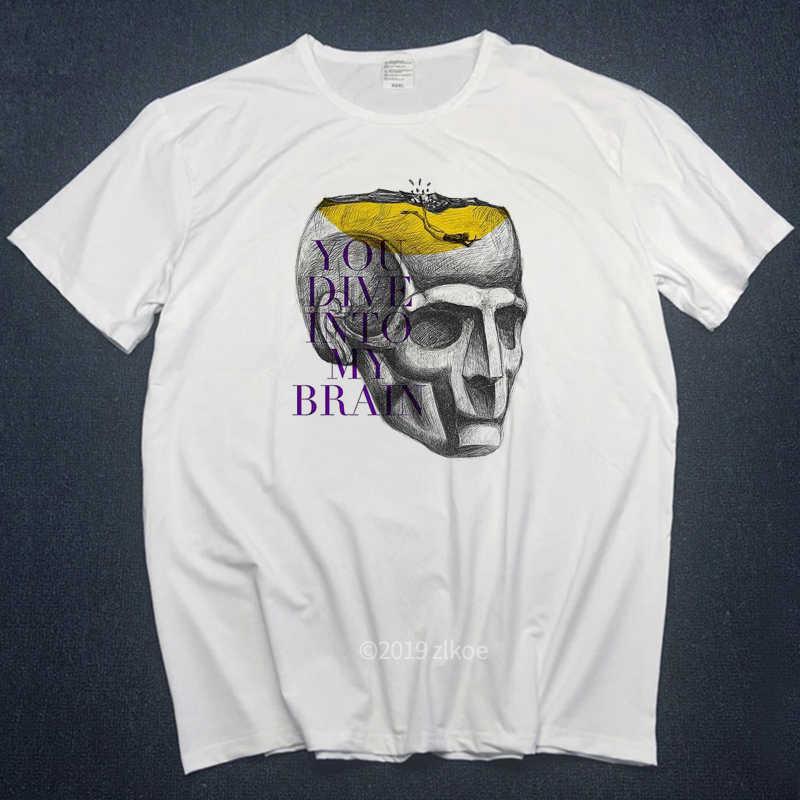 2019 T-shirt Mannen T-shirts Animal T Shirts Hoge Kwaliteit Voor Man Beter Dive Vlag Zomer Mode Grappige Print T-shirts streetwear