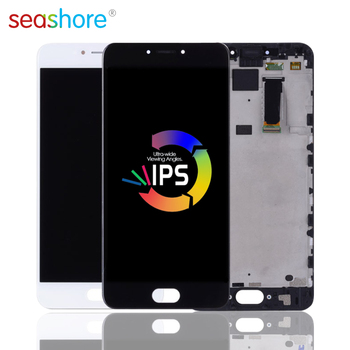 5.5Screen For MEIZU MX6 LCD Touch Screen Digitizer Assembly For Meizu MX6 Display with Frame Replacement M685 M685M M685Q M685H 5 2 for meizu m5 m611h lcd display touch screen with frame digitizer assembly replacement for meizu meilan m5 mini lcd