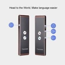 T9 портативный Wi-Fi голосовой переводчик двусторонний в режиме реального времени 40 многоязычный перевод для обучения путешествия бизнес T8 переводчик