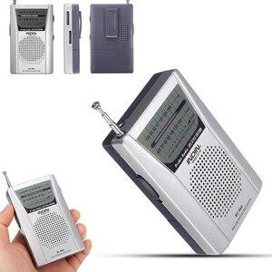 Image 5 - BC R60 Tragbare Tasche Radio Teleskop Antenne Mini AM/FM 2 Band Radio Welt Empfänger mit Lautsprecher