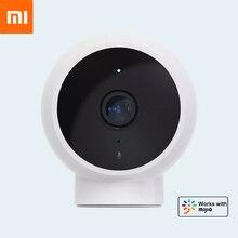 Xiaomiスマートipカメラ1080 1080pフルhd赤外線ナイトビジョン愛人検知170 ° 角度IP65防水リアル 時間双方向インターホン