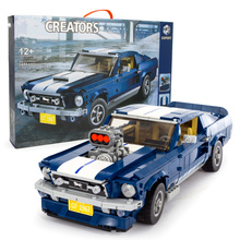 Creator Expert Technic Forded Mustanged GT Car Compatible Set Building Blocks Bricks Assembled DIY Toys Birthday Gifts