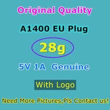 10 sztuk/partia ładowarka USB 5V 1A oryginalny OEM 28g ue wtyczka A1400 zasilacz do telefonu 5S SE 5C 6S Plus ładowarka ścienna...