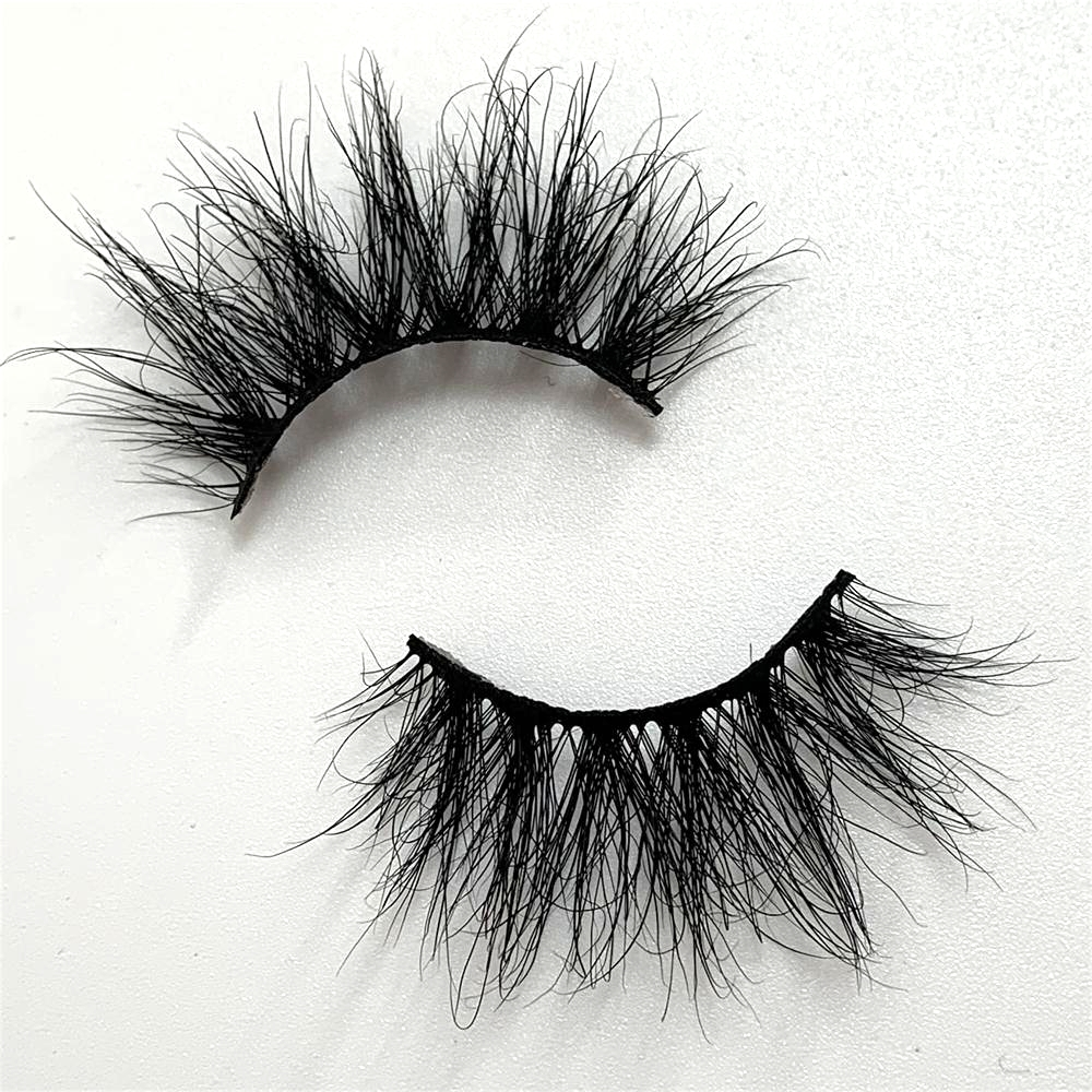 LOVE THANKS 25mm 3D Mink Lashes 100% Cruelty Free Crisscross Handmade False Mink EyelashesMakeup Dramatic Long Lashes GS503