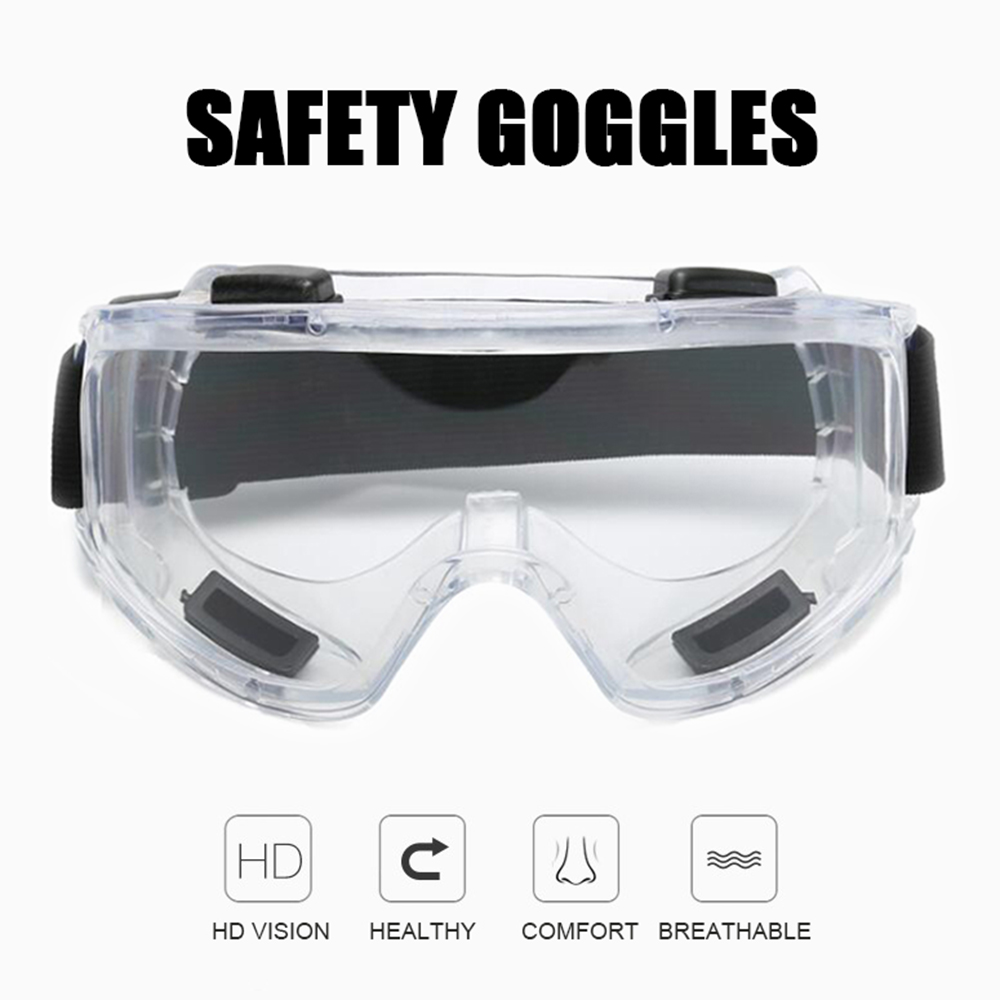 Safety Goggles Windproof Tactical Glasses Anti-Shock Dust Industrial Labor Protective Glasses Snowboard Ski Goggles