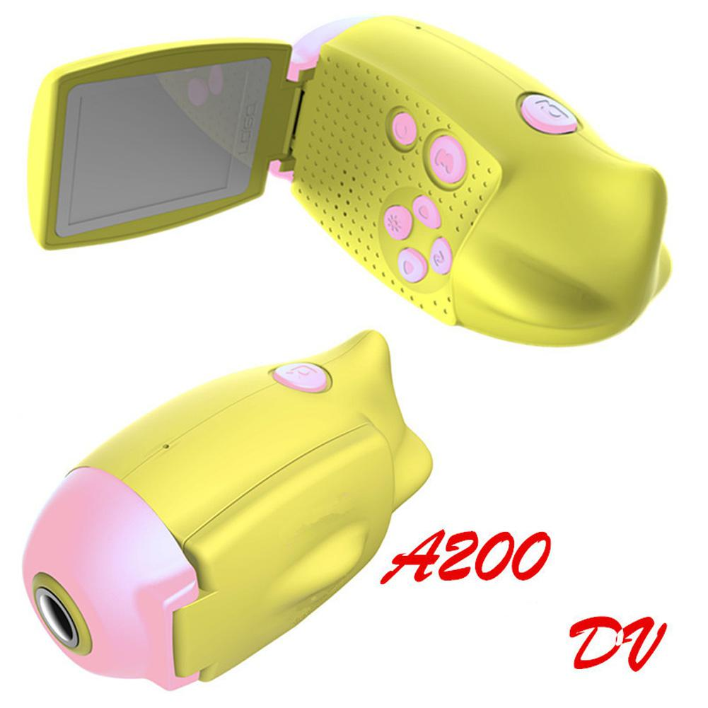 High Definition Kids Camera Cartoon Submarine Shape Digital DV Camera Digital Toys