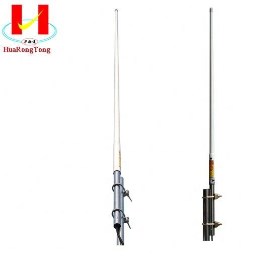 VHF 70-138 МГц Стекловолоконная Наружная всенаправленная антенна с разъемом N female