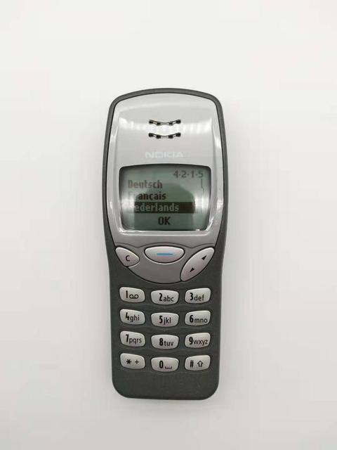 3210 המקורי נוקיה 3210 טלפון סלולרי נייד סמארטפון GSM משופץ 3210 נייד זול טלפון