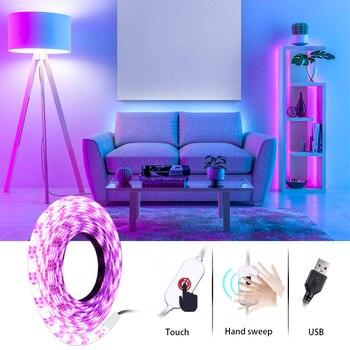 5V Ledstrips Led USB Strips Of Led Lights Strip For Room Stairs Computer Kitchen PC LED TV Blacklight Tape Led Light Colors Room 1