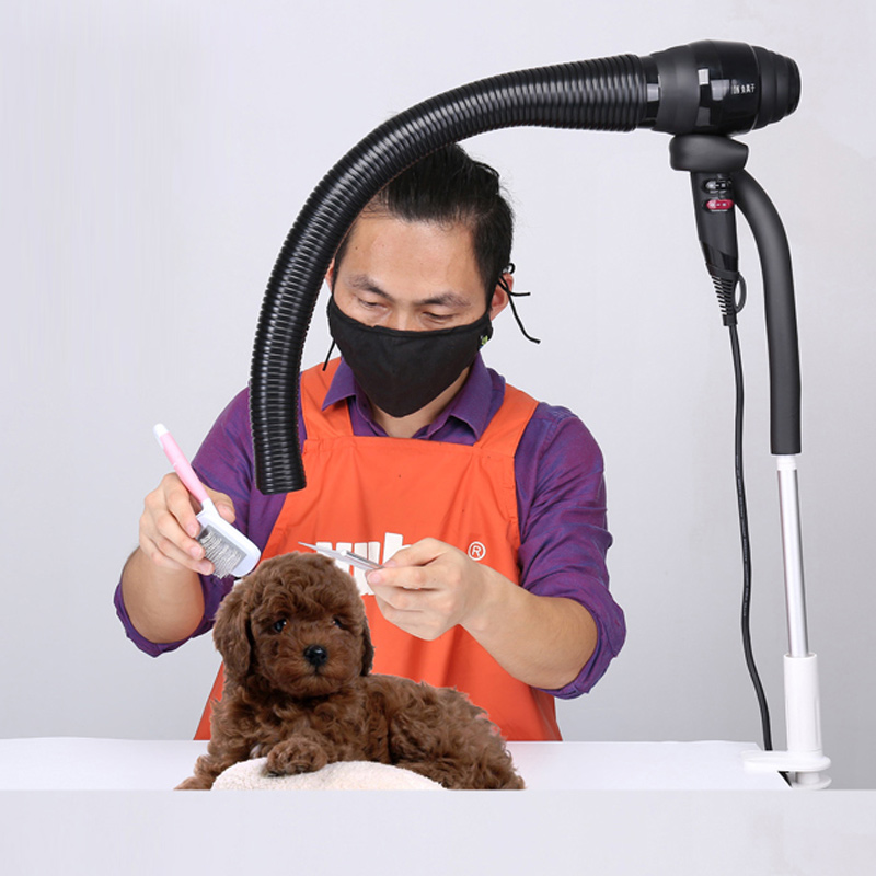 Dogs Grooming Pet Hair Dryer Flexible Adjustable Scaling Hose Bathing Beauty Quick Dry Air Outlet Adjustment Tube