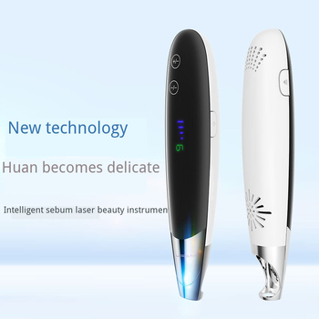 Handheld Laser Freckle Black Dots Remove Pen Mole Tattoo blackhead remove Face Care Beauty Device 9 Gears Strength Adjustable