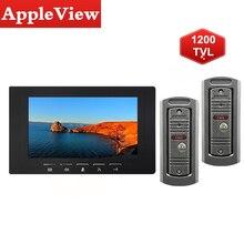 Video-Doorbell Door-Phone-Camera Home-Intercom-System Wired Night-Vision Waterproof 1200TVL