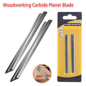 Portable Carbide Planer Blade Reversible Wood Planer Knife for Woodworking Machinery