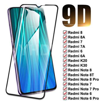 Szkło hartowane 9D do Xiaomi Redmi 8 8A 7 7A 6 6A K20 K30 szkło Redmi uwaga 8T 8 7 6 Pro folia ochronna do ekranu tanie i dobre opinie QSEHPO Bez obsługi BD CN (pochodzenie) Folia na przód 9D Full Tempered Glass For Xiaomi Redmi 8 9D Full Tempered Glass For Xiaomi Redmi 8A