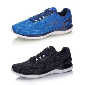 Image 2 - (كسر رمز) لى نينغ الرجال عداء خفيف احذية الجري وسادة تنفس LiNning لى نينغ أحذية رياضية أحذية رياضية ARBM021 XYP493