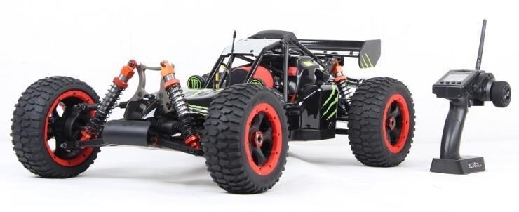 1/5 échelle Baja 5 S 36cc gaz 4WD prêt à courir Buggy