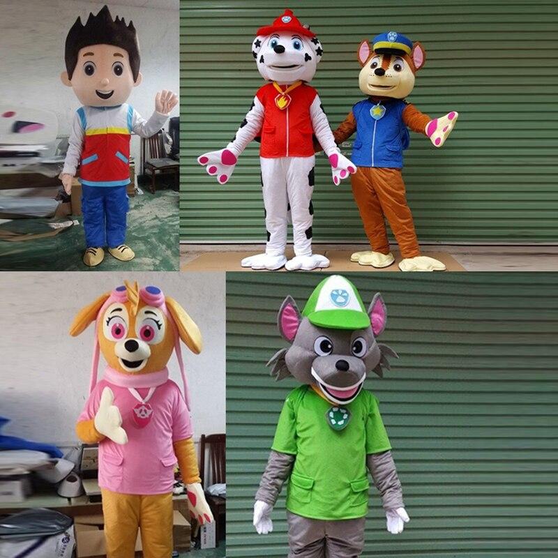 Costume de mascotte de chien