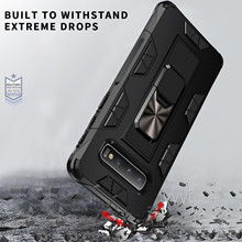 Full Protective Luxury Doom Armor Metal Case Shockproof Cover For Samsung S7 S8 S10 S10Plus