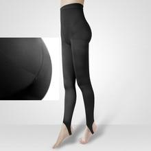 Pantimedias médicas de pierna delgada a presión segmentadas para mujer, medias y glúteos fuertes para levantar las caderas S M L XL