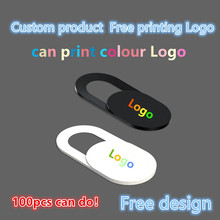 100 5000pcs custom products Free print logo Universal WebCam Cover Ultra Thin Shutter Slider Camera Lens Cover for Your logo