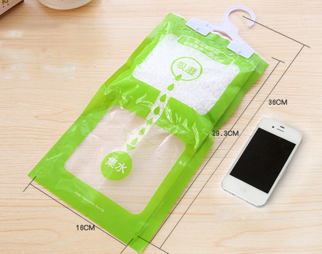 100g Scented Hanging Dehumidifier Bag Wardrobe Damp Mildew Absorb Moisture Household Supplies New